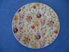 churchill england chintz all over floral bread & butter plate