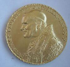 POPE JOHN PAUL II Visit to Wadowice 1988 year POLISH MEDAL Prof. Gorol gilding