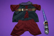 Build a Bear Star Wars Anakin Skywalker Jedi Costume Outfit Light Saber
