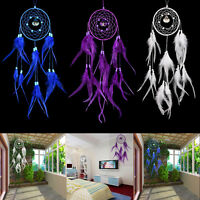 Dream Catcher With Feather Hanging Handmade Craft Gift Car Home Decoration Decor