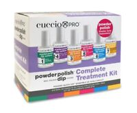 Cuccio Nail Dipping Powder Polish Dip System Complete PREP Kit 6ct/pk