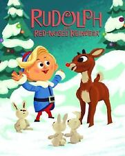Rudolph the Red-Nosed Reindeer by Alan Benjamin c2008, NEW Hardcover