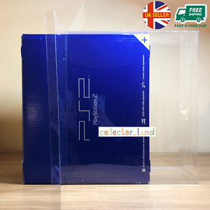 1 x BOX PROTECTOR for Sony PlayStation 2 PS2 Game Console Box Clear DISPLAY CASE