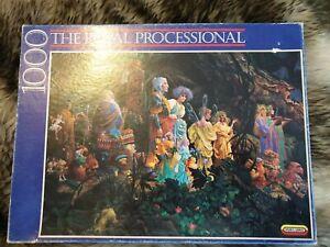 The Royal Processional Jigsaw Puzzle  James C Christensen Read Description! Rare