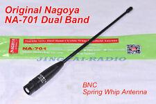 Newest Version! Nagoya NA-701 Dual-Band Flexible Antenna BNC ICOM Marantz Radio