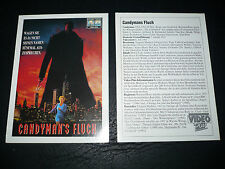CANDYMAN, film card [Virginia Madsen, Tony Todd]