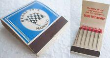 GRAND PRIX MONACO (1966) matchbox, boîte d'allumettes VINTAGE