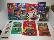 1 Lot of 9 NASCAR Cars, 1:64 scale, new