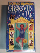 RICHARD SIMMONS GROOVIN' IN THE HOUSE AN AEROBIC CONCERT 1998 SEALED NEW VHS OOP