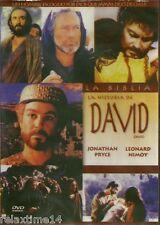 LA BIBLIA LA HITORIA DE DAVID NEW DVD