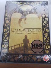 game of thrones season 5 uk region 2 dvd new/sealed