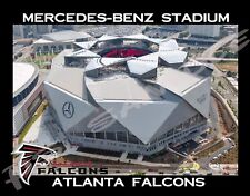 Atlanta Falcons - MERCEDES-BENZ STADIUM - Travel Souvenir Flexible Fridge MAGNET