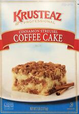 7 Pounds Krusteaz Cinnamon Streusel Coffee Cake Mix