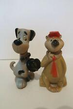 Ancien Pouet Pouet Yogi Bear & Huckleberry Hound Exc Etat Dell Usa 1960's