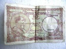 Belgique - Billet de 20 Francs - Type 1919