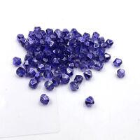 1000pcs Austria Crystal Glass bead 4mm #5301 Bicone beads DIY jewelry make #236