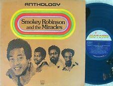 Smokey Robinson & Miracles ORIG US 3LP Anthology EX Motown M793R3 Soul