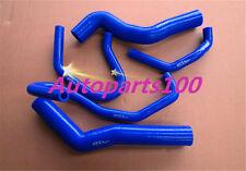 Blue silicone radiator heater hose for Prado KZJ120 KZJ120R 3.0TDi 1KZ-TE 03-07