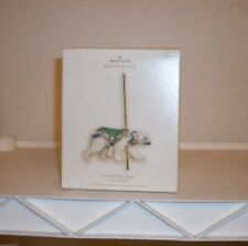 Hallmark Ornament Carousel Ride # 4 Grand Polar Bear 2007 New