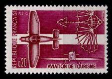 """Alter Flugapparat """"Eole"""" von Ader. 1W. Frankreich 1962"""