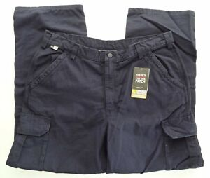 NWT Carhartt FR Flame-Resistant Dark Navy Canvas Cargo Work Pant CAT2 NFPA 70E