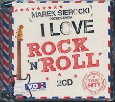 Marek Sierocki Przedstawia I Love Rock'n'Roll  [2CD] NEW 889853305728 TYLKO HITY