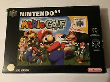 Mario Golf - Nintendo N64 - PAL - boxed and complete - very good condition