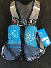 New Size Small - Ultimate Direction Race Vest 4.0 Running Hydration Pack - Blue