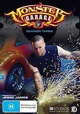 MONSTER GARAGE - SEASON 3 - BRAND NEW & SEALED 6-DISC DVD BOX SET - JESSE JAMES