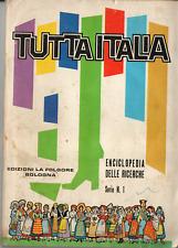 Album Figurine Tutta Italia! La Folgore Edizioni! Ottimo! Quasi Completo (-1fig)