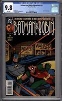 Batman and Robin Adventures 1 CGC Graded 9.8 NM/MT DC Comics 1995