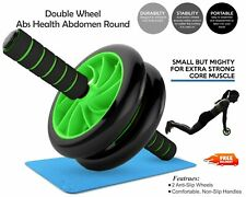Abdominal Ab Roller Wheel Exercise Fitness Gym Home Core Strength Training Exerc