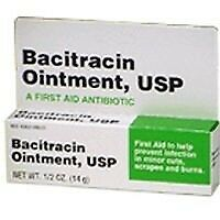 Bacitracin First aid Antibiotic Ointment USP .5 oz