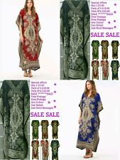 Wholesale 1 3 6 Pack OF Women's New Floral Print Long Kaftan Dress African Style