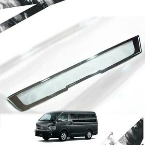 For 11-13 Toyota Hiace Commuter Front Bumper Cover Trim Chrome
