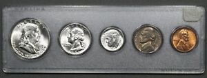 1953 P U.S. Silver Mint Set, BU Brilliant Uncirculated BEAUTIFFUL!MS+