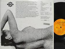 BWIA Sunjets Naked Steel Nude Cheesecake LP Jamaica Reggae Steel Ska Byron Lee