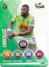 Canberra Raiders 2016 Rugby League (NRL) Trading Cards