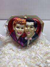 Polonaise Glass Christmas Ornament I Love Lucy Box Tags Ap1547