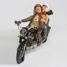 Guillermo Forchino Comic Motorbike Exciting Motor ride Figurine Sculpture Statue
