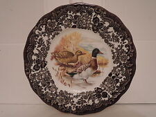 "Vintage Palissy Game Series 7"" Plate Mallards Ducks Royal Worcester Group"