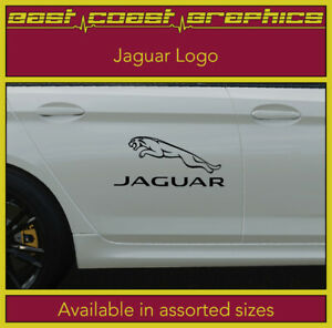 JAGUAR LOGO vinyl sticker decal Ideal for Window, Side Skirt, Bumper