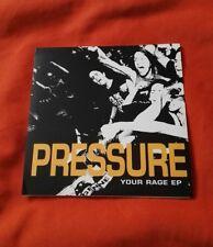 "PRESSURE - Your Rage E.P. / 7"" yellow vinyl Single"