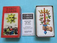 FAB RARE VINTAGE 1970 WADDINGTONS SWITZERLAND AG MULLER + CIE TAROT CARDS DECK