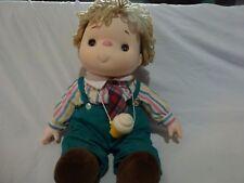 Vintage 1980 J Shin Ice Cream Cone Doll Boy with Necklace