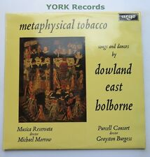 RG 572 - METAPHYSICAL TOBACCO - Dowland / East PURCELL CONSORT - Ex LP Record