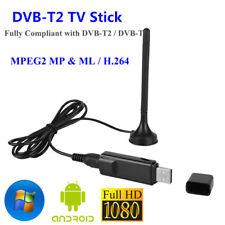USB DVB-T2 TV Stick Recorder Receiver HDMI H.264 TV Dongle For Windows 10 JS