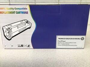 Black TN360/2120/2125/2150/26J Laser Toner Cartridge  Brother Compatible