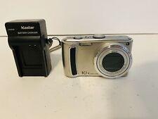 Panasonic LUMIX DMC-TZ4 8.1MP Digital Camera - Silver
