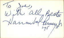 "HANNIBAL PENNEY JR RYAN'S HOPE Signed 3""x5"" Index Card"